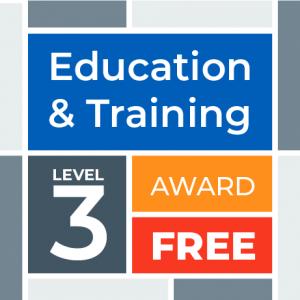 Education & Training Level 3 Award for GP staff
