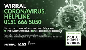 Wirral Coronavirus Helpline