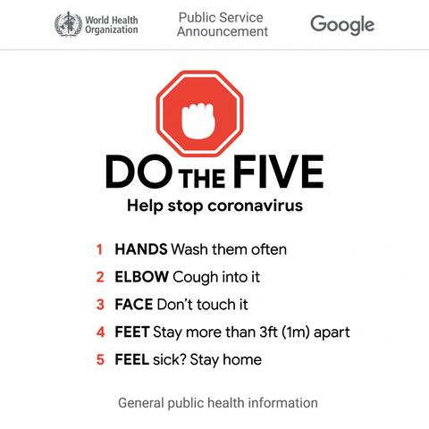 Covid-19 Do The Five