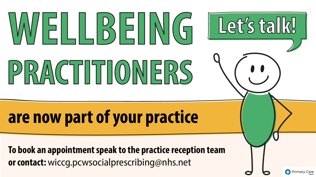 Wellbeing Practitioners Campaign
