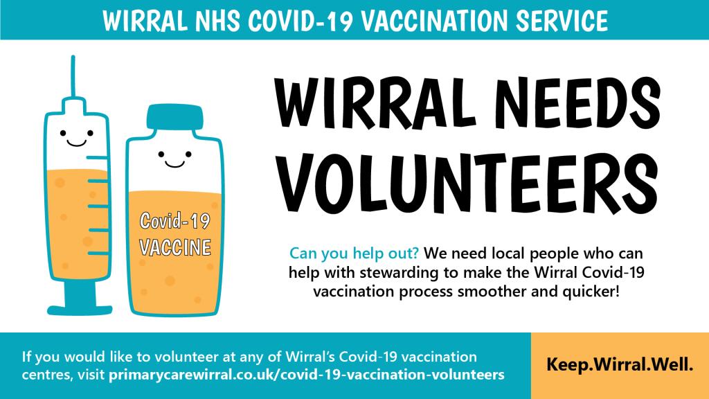 Volunteers Coronavirus Vaccine Wirral